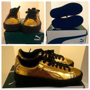 Gold Puma - Tennis